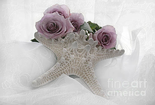 Starfish and Roses by Lynn Jackson