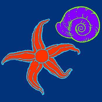 Starfish and Shell by Jennifer Hotai