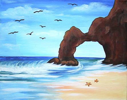 Starfish Beach by Kristine Mueller Griffith