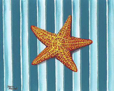 Darice Machel McGuire - Starfish On Stripes