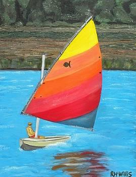 Starfish Sailing by Hogan Willis