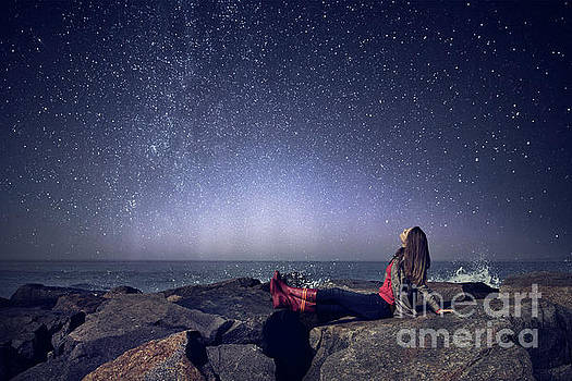 Stargazer by Evelina Kremsdorf