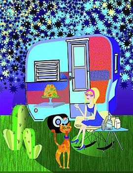 Starlight Night by Lynnda Rakos