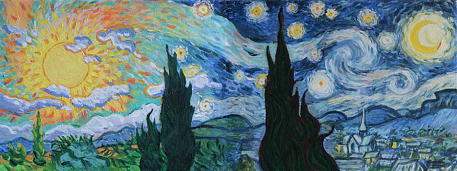 Starry Day Starry Night by Wiley Purkey