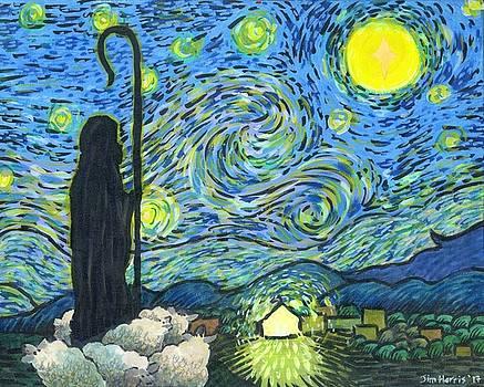 Starry Night Bethlehem by Jim Harris