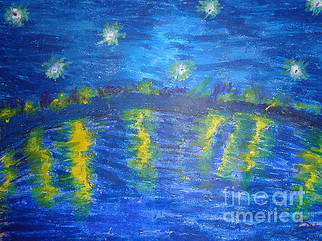 Starry Night by Chitra Helkar