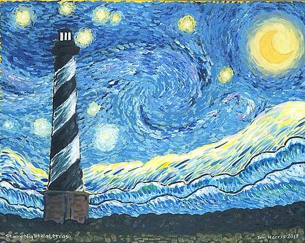 Starry Night Hatteras by Jim Harris