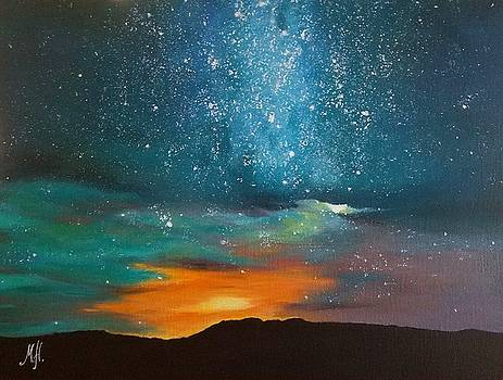 Starry Night  by Marina Hanson