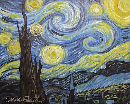 Starry Night by Molly Roberts