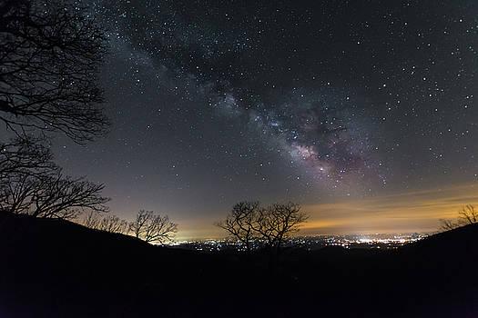 Starry Night On the Blue Ridge by Steve Hammer