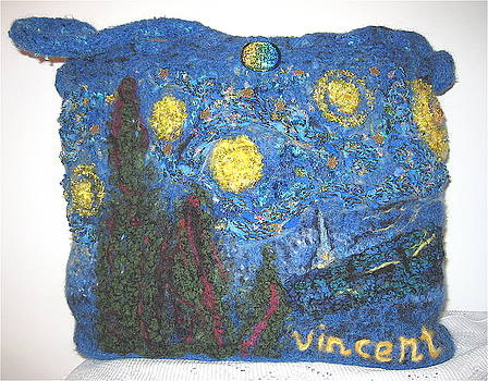 Starry Night Tote by Patricia Maxwell