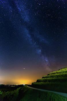 Starry sky above me by Davor Zerjav