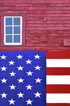 Nikolyn McDonald - Stars and Stripes - Rural Abstract - 1
