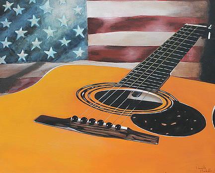 Stars Guitar by Danielle Allard