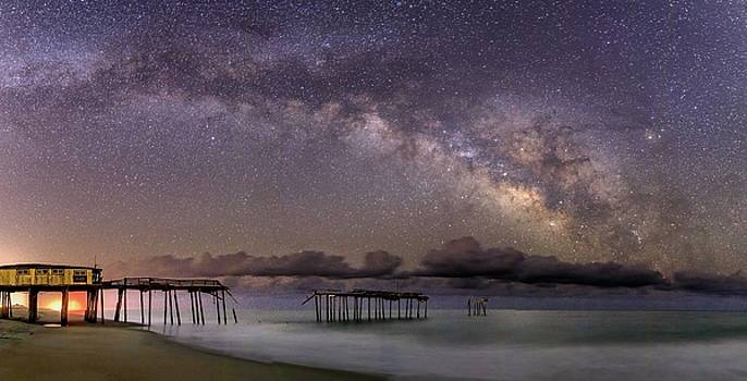Stars over Frisco by Nick Noble