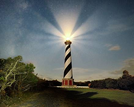 Stars Over Hatteras by Jeff Burcher