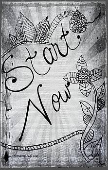 Start Now by Rachel Maynard