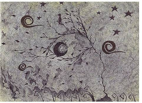 Stary night Sk-eye by Efrain  Aguilar