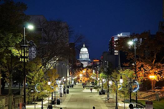 State Street - Madison, WI by Jeff Murphy