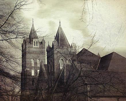 Statesville Church Steeples by Eric Bjerke Sr