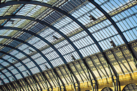 Station roof by Tom Gowanlock