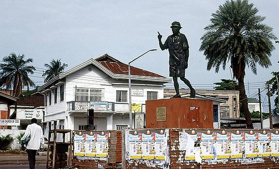 Statue of Dr. Tai Solarin by Muyiwa OSIFUYE