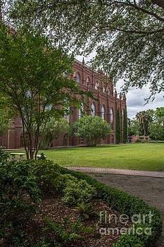 Dale Powell - Statue Garden Courtyard