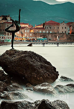 Statue in Budva Montenegro by Sophie McAulay