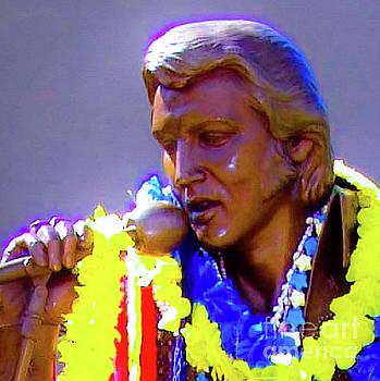 Statue of, Elvis Presley - Honolulu, Hawaii - 565 D  by D Davila