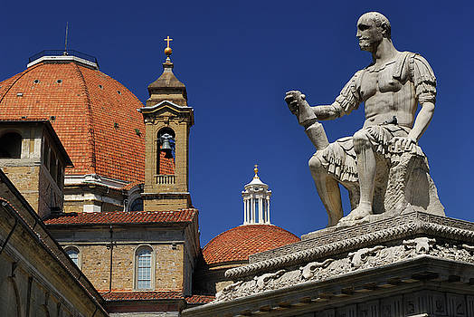 Reimar Gaertner - Statue of Giovanni Delle Bande Nere in Piazza San Lorenzo Floren