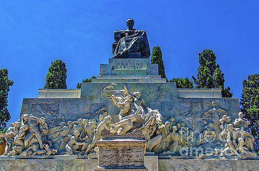 Julian Starks - Statue of Giuseppe Mazzini #1