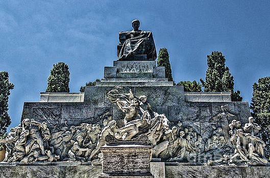 Julian Starks - Statue of Giuseppe Mazzini #2