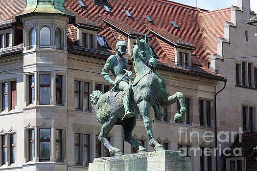 Statue of Hans Waldmann in Zurich Switzerland by Louise Heusinkveld
