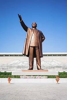 Statue of Kim Il-sung by Matt Perry