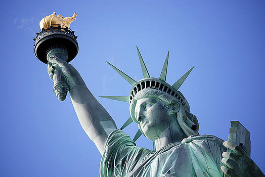 Statue of Liberty 1 by Eneida Gastal-Keith