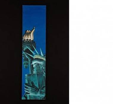 Statue Of Liberty At Twilight by Joseph Greenawalt