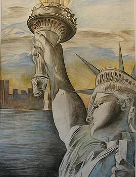 Statue of Liberty by Bennie Parker