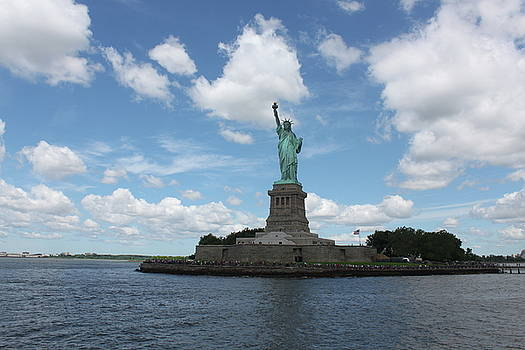 Statue of Liberty Enlightening the World by Carol Turner