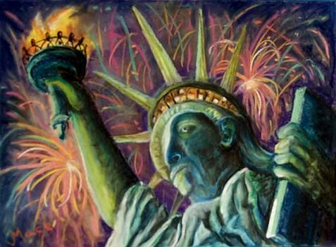 Statue of Liberty by Joan Mace