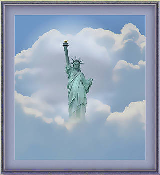 Statue of Liberty Montage by Clive Littin
