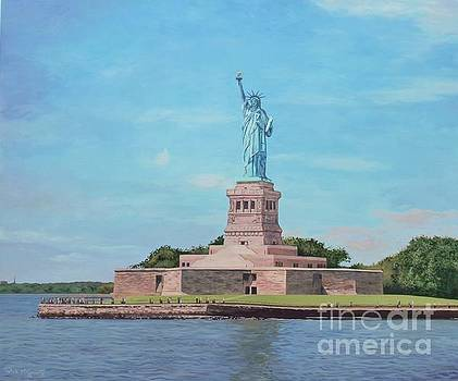 Statue of Liberty by Rick McGroarty