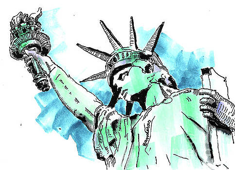 Statue Of Liberty by Terry Banderas