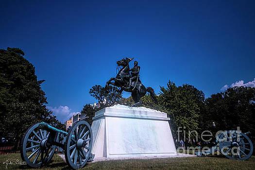 Julian Starks - Statue of President Andrew Jackson #5