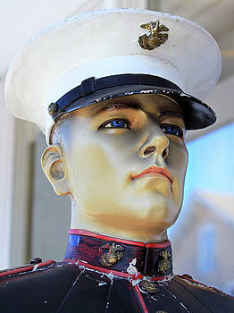 Statue of Sailor in Uniform by Donna Haggerty