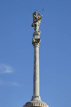 Sami Sarkis - Statue of San Rafael the patron saint of Cordoba