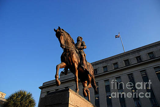 Susanne Van Hulst - Statue of the Governor Wade Hampton in Columbia South Carolina