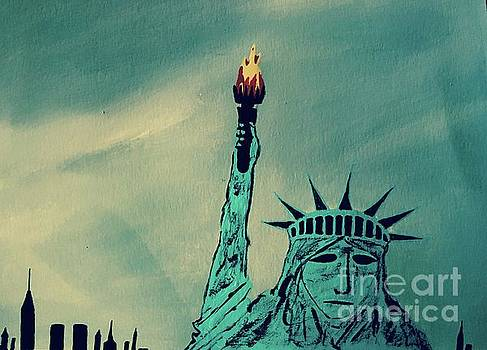 Statue Of Liberty by Jeffrey Koss