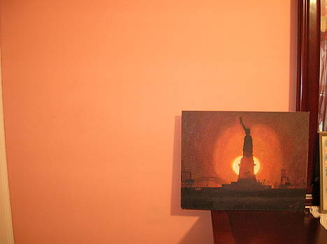 Staue Of Liberty by Zeenath Diyanidh
