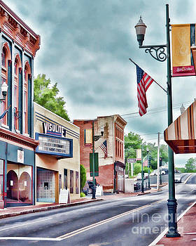 Staunton Virginia - Art of the Small Town by Kerri Farley