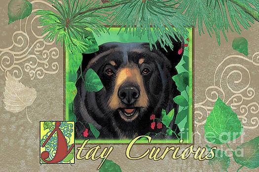 Stay Curious Bear by Tracy Herrmann